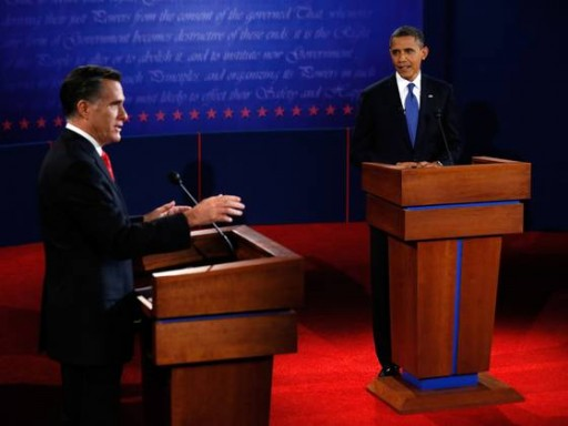 First Presidential Debate - USA Today
