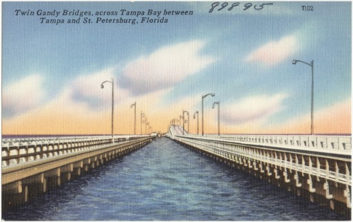 Twin Gandy Bridge Tampa St Petes